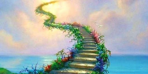 Upper World Journey to Meet a Spirit Guide