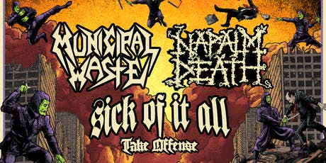Municipal Waste / Napalm Death tickets