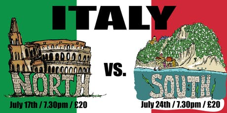 Italy: North vs. South tickets