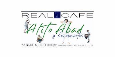 Alito Abad y Los Consortes en concierto
