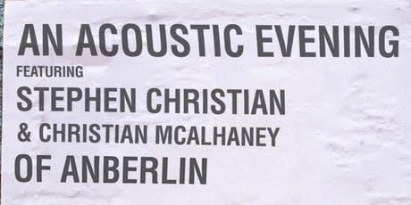 An Acoustic Evening w/Stephen Christian & Christian McAlhaney of Anberlin tickets