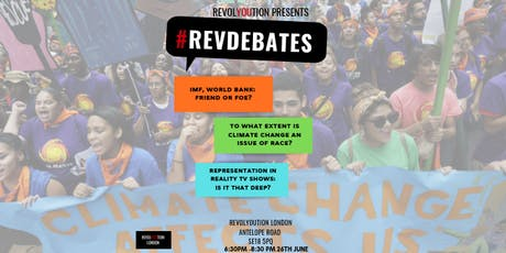 #REVDEBATES: To what extent is climate change an issue of race? tickets