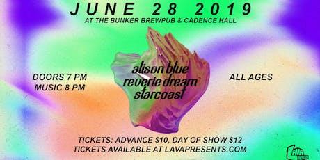 Starcoast, Reverie Dream, Alison Blue tickets