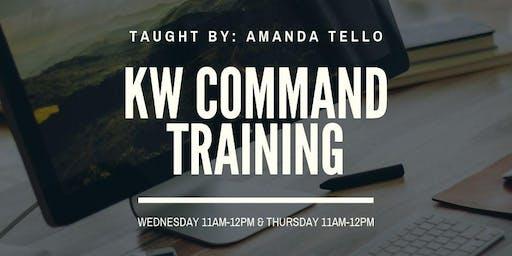 Command Training w/Amanda