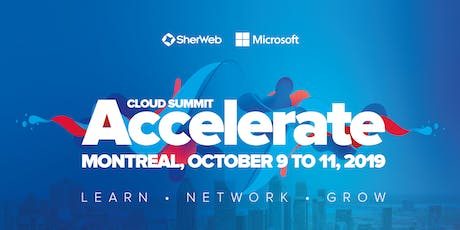 Accelerate Cloud Summit 2019 tickets