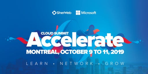 Accelerate Cloud Summit 2019