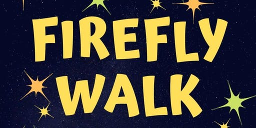 Cancelled--- Firefly Walk at Matthies Park (7/20 at 8:15 PM)