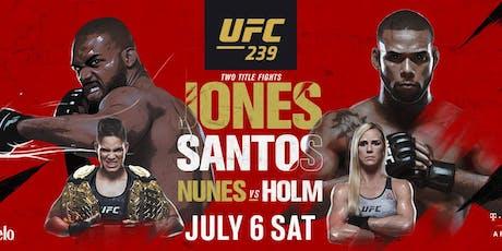 UFC 239 - Jones vs Santos / Nunes vs Holm tickets