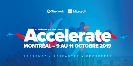 Conférence Accelerate 2019 tickets