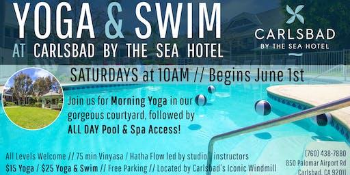 Yoga & Swim at Carlsbad by the Sea Hotel