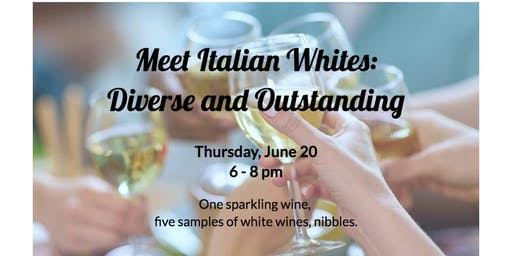 Italian White Wine Tasting: Diverse and Outstanding