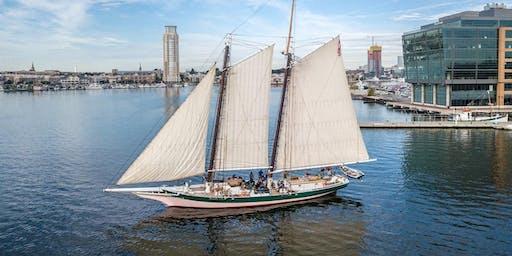 LADY MARYLAND Downrigging Weekend Sails*, Nov. 2-3, 2019