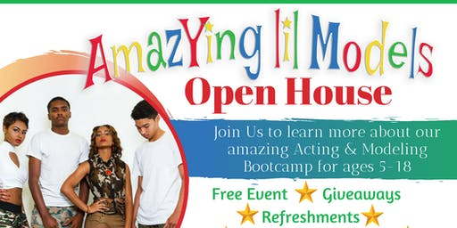 AmazYing lil Models Open House