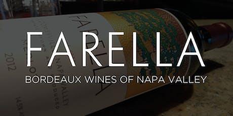 Farella Wine Dinner tickets