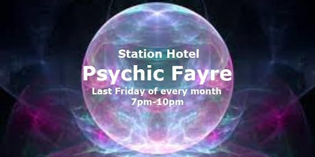 Psychic Fayre at the Station Hotel Dudley on 27 September tickets