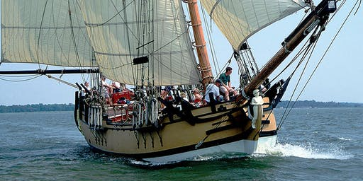 Schooner SULTANA Downrigging Weekend Sails*, Nov. 1-3, 2019