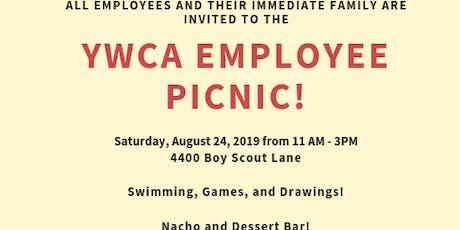 YWCA 2019 Employee Picnic tickets