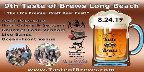 2019 Taste of Brews Long Beach tickets