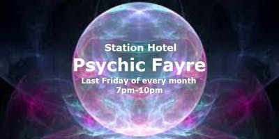 Psychic Fayre at the Station Hotel Dudley on 25 October