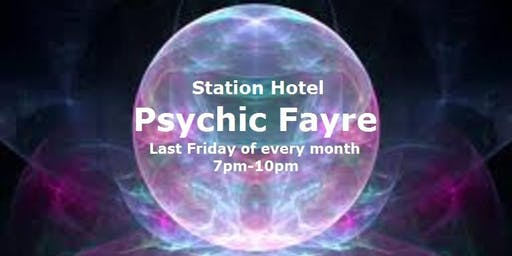 Psychic Fayre at the Station Hotel Dudley on 29th November