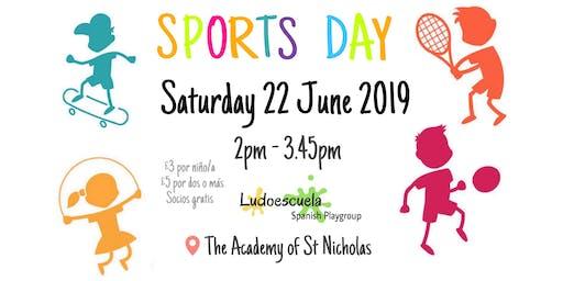Sports Day - Día de los deportes