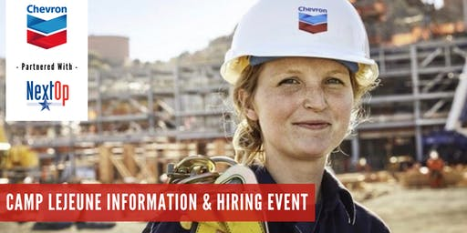 Chevron Information & Hiring Event at Camp Lejeune