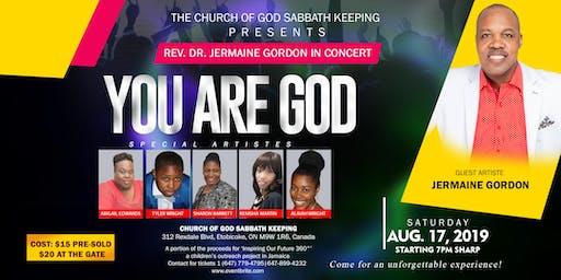 YOU ARE GOD Gospel Concert