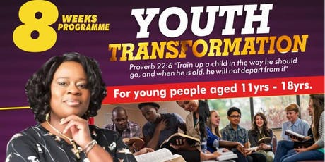 Youth Transformation for age 11yrs - 18yrs tickets
