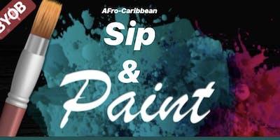 Afro-Caribbean Sip & Paint