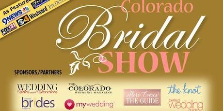 COLORADO BRIDAL SHOW-9-8-19 Marriott Denver Tech Center - South Denver-Seen on TV!  tickets
