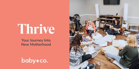 Thrive: Your Journey Into New Motherhood Class Series - Tuesdays 6/25 - 7/30 with Ashley Couse tickets