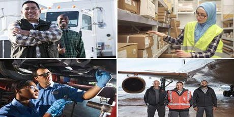 CAREERS IN TRANSPORTATION & WAREHOUSING EVENT tickets