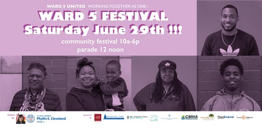 The 14th Annual Ward 5 Community Family Festival!
