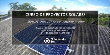 Curso de Proyectos Solares // Buenos Aires Julio 2019 entradas