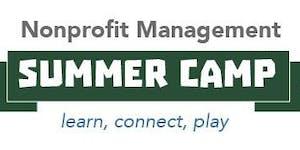 Nonprofit Management Summer Camp 2019