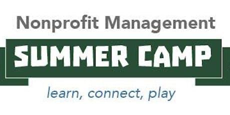 Nonprofit Management Summer Camp 2019 tickets