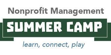 Nonprofit Management Summer Camp 2019