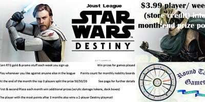 Star Wars Destiny Joust League at Round Table Games
