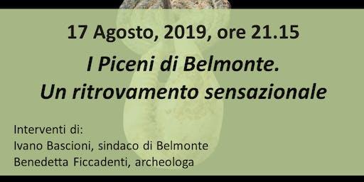 I Piceni di Belmonte. Un ritrovamento sensazionale