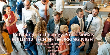 Pittsburgh Technology Professionals Networking Night tickets