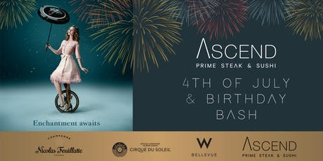 ASCEND PRIME 4TH OF JULY BASH tickets