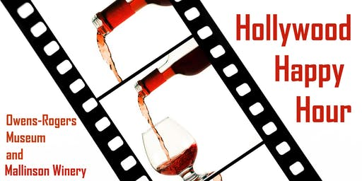 Hollywood Happy Hour:wine and tour