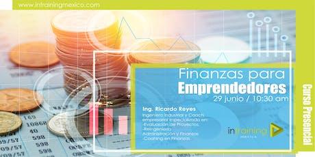 Finanzas para emprendedores entradas