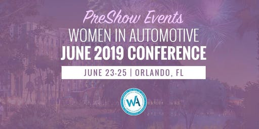 Women in Automotive - Pre-Show Events