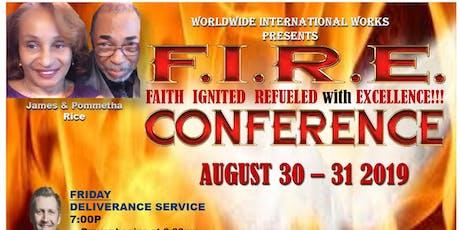 2019 F.I.R.E.CONFERENCE  tickets