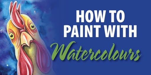 How to Paint with Watercolours- Chicken