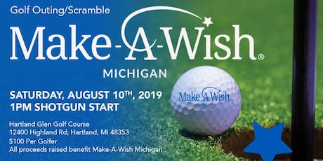 Charity Golf Outing Benefiting Make-A-Wish Michigan tickets