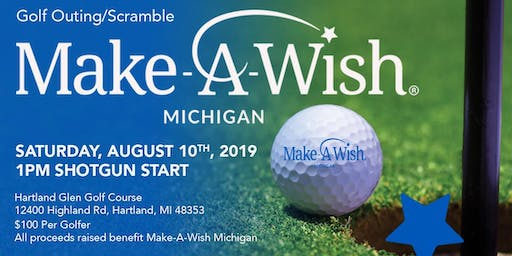 Charity Golf Outing Benefiting Make-A-Wish Michigan