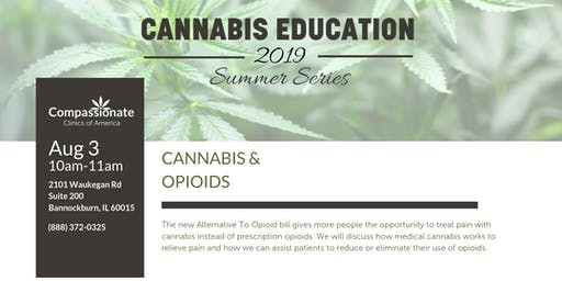 Medical Cannabis Education Event: Cannabis & Opioids