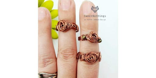 Ring Wire Wrapping Workshop- Memphis